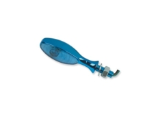 Piloto Intermitente Mini-Ovoide Azul C/Laser 4600