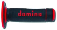 Puños off road Domino cross negro/rojo A02041C4240