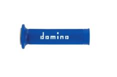 Puños racing 126mm azul/blanco A01041C4648