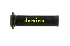 Puños racing 126mm negro/amarillo A01041C4740