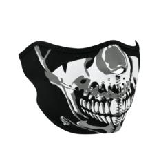 Mascara Neopreno Crome Skull