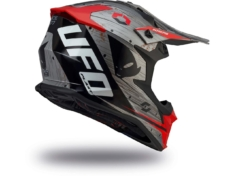 Casco UFO INTREPID Gris/Rojo