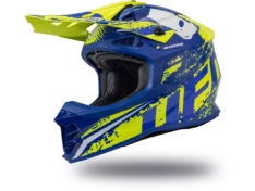Casco UFO INTREPID Azul/Amarillo Neon