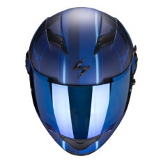 Casco Scorpion EXO-490 DAR color Azul Mate